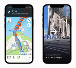 Redesigned Apple Maps from WWDC 2021
